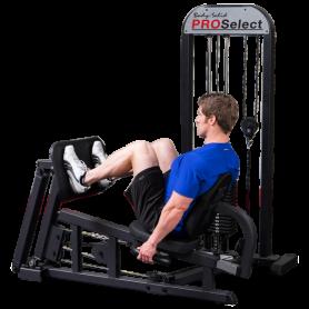 Body Solid Pro Select Beinpresse-Waden Kombi (GLP-STK)