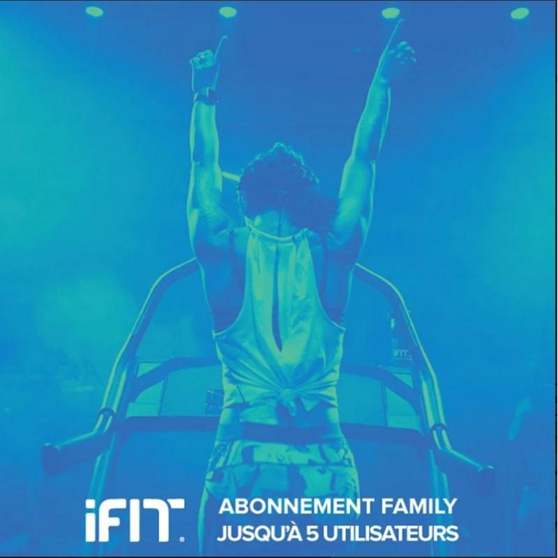 NordicTrack iFit Familienabonnement (1 Jahr) - bis 5 Benutzer