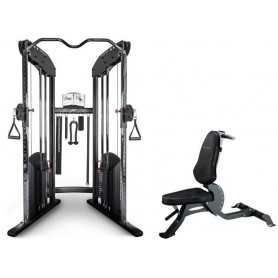 BodyCraft HFT Home Functional Trainer incluant un banc F603