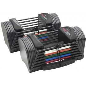 PowerBlock Sport 2.4 paire d'haltères 1,3-10,8kg