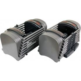 PowerBlock Sport EXP Set 5-50 paire d'haltères 1,1-22,7kg (en option jusqu'à 40,8kg)