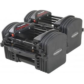 PowerBlock PRO EXP Set 5-50 paire d'haltères 1,1-22,7kg (en option jusqu'à 40,8kg)