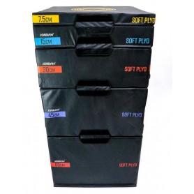 Boîtes pliométriques Jordan, jeu de 5 boîtes (JLSPB2-5)
