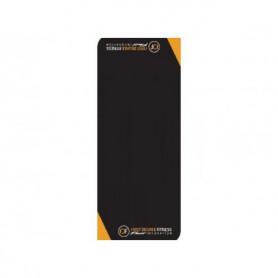 First Degree floor mat 225 x 90cm, black/orange