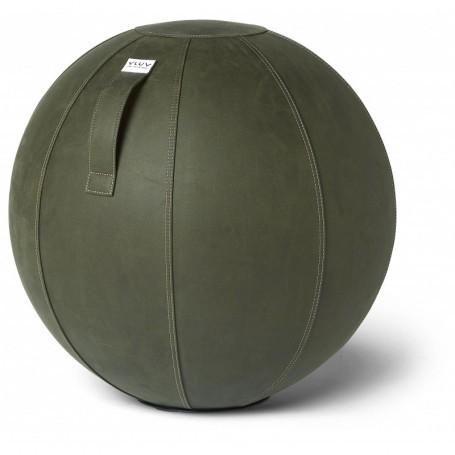VLUV VEGA Kunstleder-Sitzball, Moss, 60-65cm