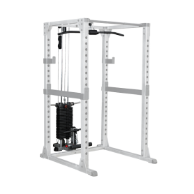 Body Solid Lat/ Row Pull Station (GLA378) pour Power Rack GPR378