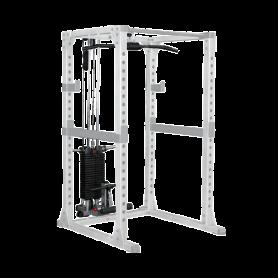 Body Solid Lat-/Ruderzug-Station (GLA378) zu Power Rack GPR378