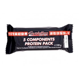 Sport & Fitness 5 Components Protein Pack Riegel 13x100g