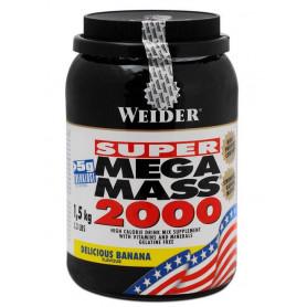 Weider Mega Mass 2000, 1,5kg can