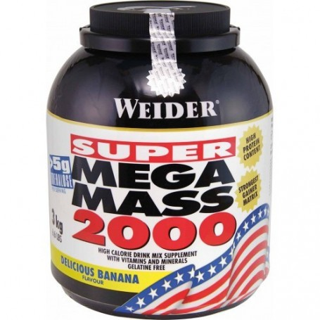 Weider Mega Mass 2000, 3kg Dose