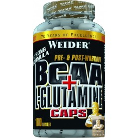 Weider BCAA + L-Glutamin 180 Kapseln