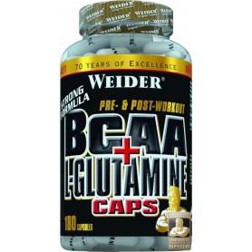 Weider BCAA L-Glutamine 180 Capsules