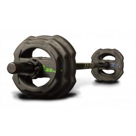 Jordan Ignite V2 Pump Set, rubberized, black (JTSPSR2)