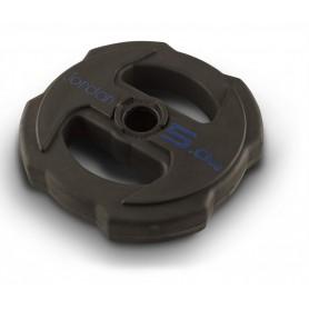 Plaques de poids Jordon Ignite V2 31mm, caoutchouté (JTSPR2)