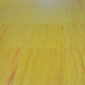 Tapis de sol - Tapis d'arts martiaux aspect bois/sable 100x100x2,5cm