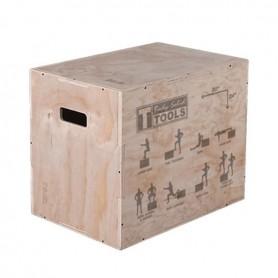 Body Solid 3-in-1 Plyometric Wooden Box (BSTWPBOX)