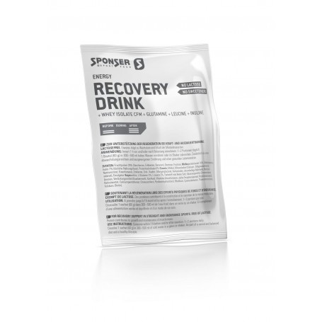 Sponser Recovery Drink 6 x 60g Box