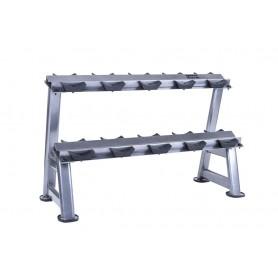 Jordan Dumbbell Rack for 10KH - 2-ply, silver (JTDR-09N)