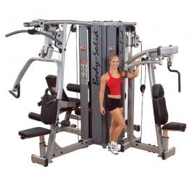 Body Solid D-Gym - 4-Stationen-Turm