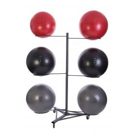 Jordan Gymnastikballständer für 6 Bälle (JTJSR-6)