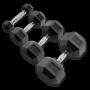 Body Solid Hexagon Kurzhanteln gummiert 1-50kg