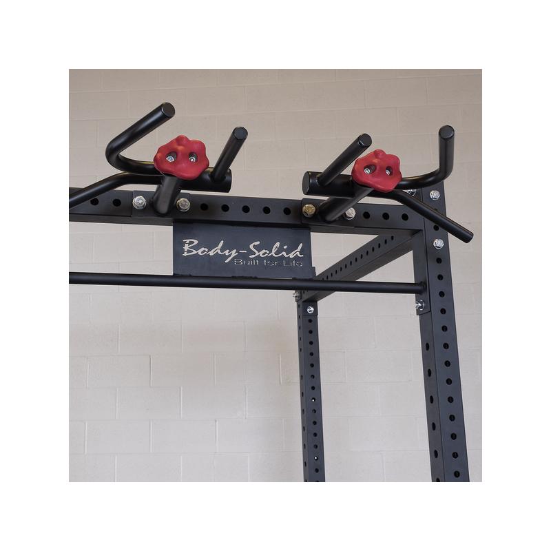 Body Solid Multi Grip Pull Up zu Power Rack SPR1000 (SR-MGC)