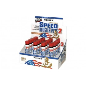 Weider Speed Booster Plus 2 Ampoules 20x25ml