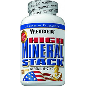 Weider High Mineral Stak 120 Tablets