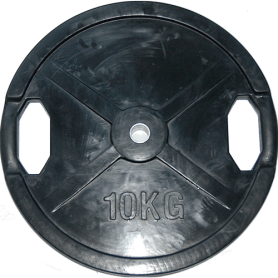 Body Solid weight plates 26mm, black, rubberized (SRP)