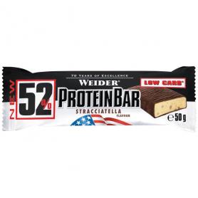 Weider 52%-Protein-Bar - Riegel - 24x50g