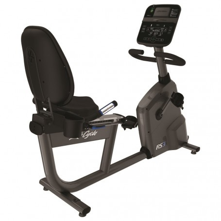 Life Fitness RS3 Track Connect Liege-Ergometer