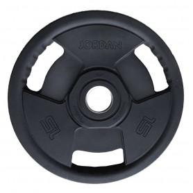 200kg - 1000kg Disques de poids Jordan 51mm, caoutchoutés