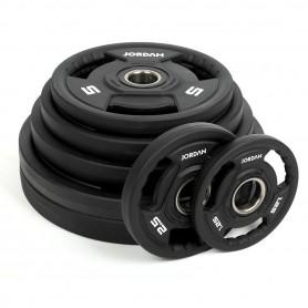 200kg - 1000kg Set Jordan Gewichtsscheiben Urethan 51mm (JTOPU2)