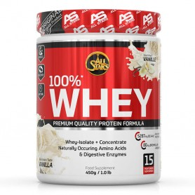 All Stars 100% Whey Protein 450g Dose
