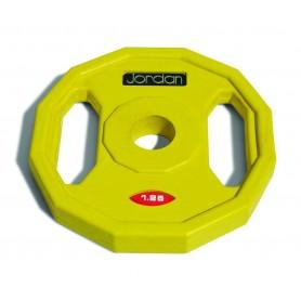 Jordon weight plates 31mm, rubberized (JTSB)