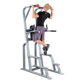 Body Solid Pro Club Line Beinhebe-/Dip-Station (SVKR1000)