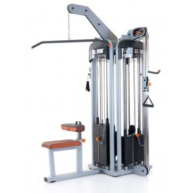 Teca 4-Station Tower, 1xTriceps/2xTension Tower/1xLat (SP781C)