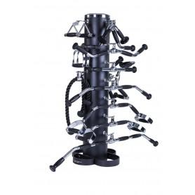 Offre groupée : Porte-accessoires Jordan avec 15 poignées (JTMR-15-B