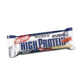 Weider 40% Low Carb High Protein Riegel - 24x50g
