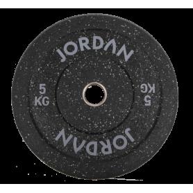 Jordan High Grade Gummi Bumper Plates 51mm, schwarz-gefleckt (JLFRCTP)
