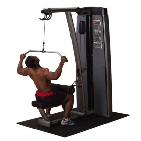 Body Solid Club Line - Dual Lat/Mid Row (DLAT-SF)