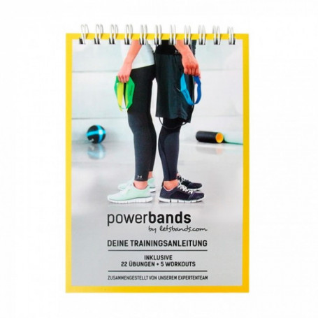 Lets Bands Powerbands Trainings Handbuch