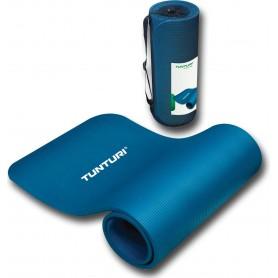 Tunturi NBR Fitnessmatte, blau