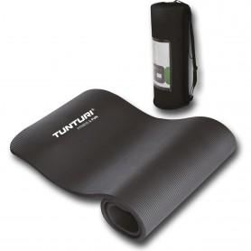 Tunturi NBR Fitnessmatte, schwarz