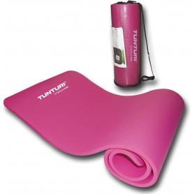 Tunturi NBR Fitnessmatte, pink