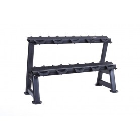 Jordan Dumbbell Rack pour 10KH - 2 plis, noir (JTDR-09N)