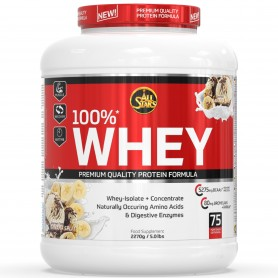 All Stars 100% Whey Protein 2270g can
