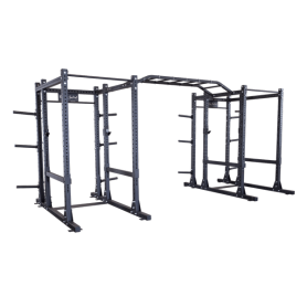 Body Solid Commercial Double Power Rack Extended (SPR1000DBBACK)
