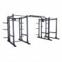 Body Solid Commercial Doppel Power Rack Extended (SPR1000DBBACK)