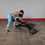 Body Solid Pro Club Line Universalbank mit Fussrolle (SFID425)